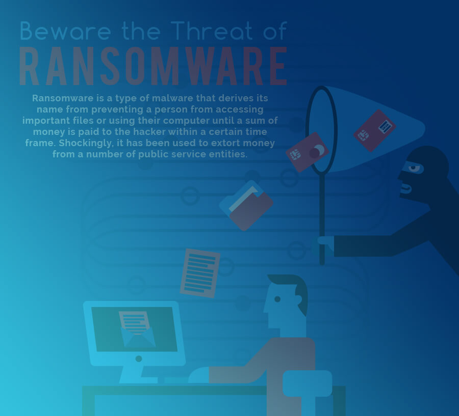 Beware The Threat Of Ransomware